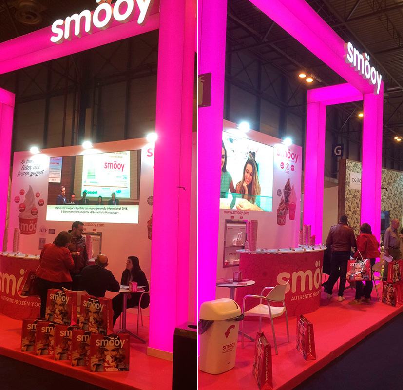 smooy salon internacional franquicia madrid